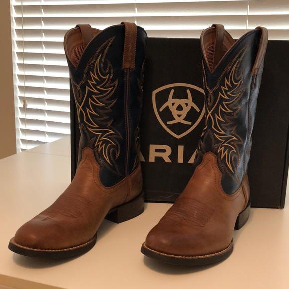 b600389fdba Ariat Men's Sport Horseman Western Boots